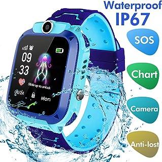 15e7c2c4e Smartwatch Niños - Reloj Inteligente Smartwatch para niños con Fence Cámara  SOS Chat de Voz Juego