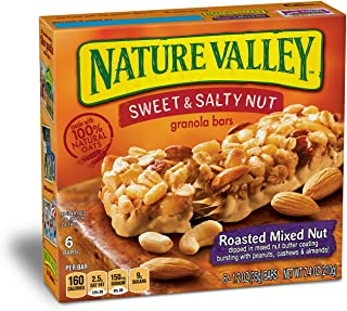nature valley granola cereal nutrition facts