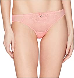 Emporio Armani - Brazilian Brief in Lace with Tulle Insets