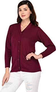 eWools Woolen Bestselling Basic Casual Women Ladies Cardigan Sweaters