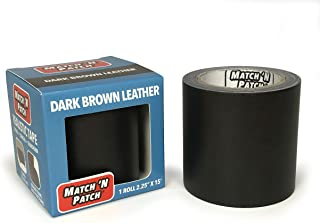 Match 'N Patch Realistic Dark Brown Leather Repair Tape