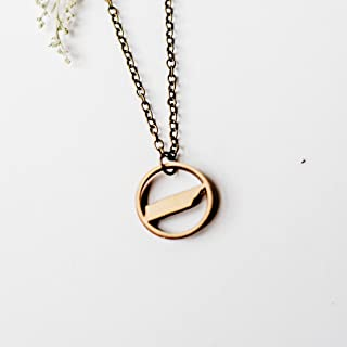Tennessee Ring Pendant Necklace