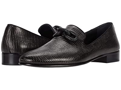 Giuseppe Zanotti Cut Link Loafer (Black) Men