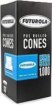 Futurola - Unrefined Super Thin Pre Rolled Cones - Classic White (1000, King)