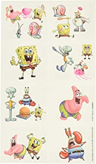 amscan Party Tattoo Favors | Spongebob Collection | Party Accessory