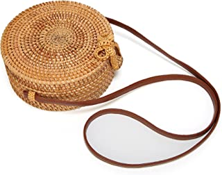 Best bamboo round bag Reviews