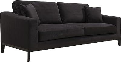Amazon.com: Rivet Revolve Modern Upholstered Sofa with ...