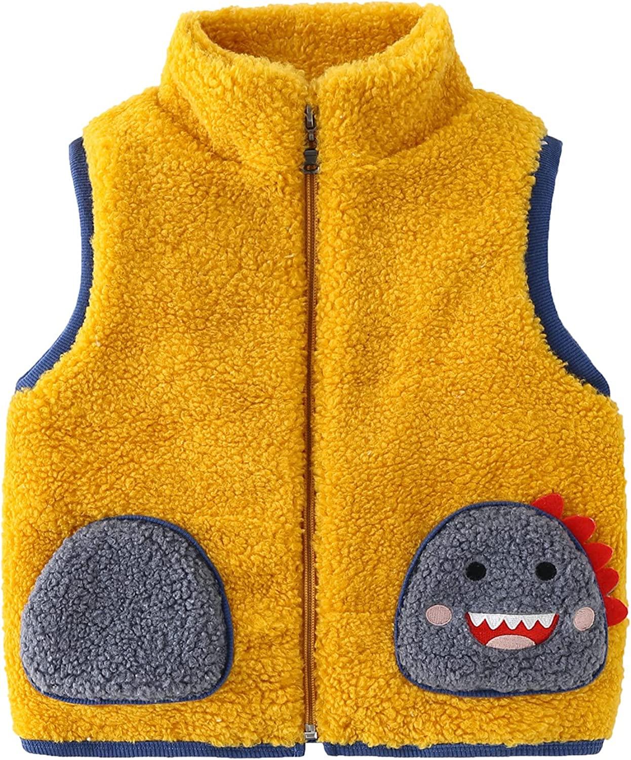 In stock Lobmouse Baby Winter Gilets Toddler Girl Boy Fleece Vest Waistco Manufacturer direct delivery