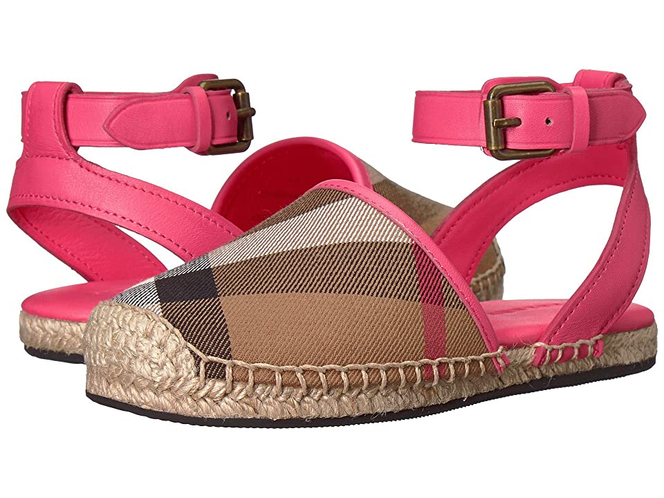 Burberry Kids New Perth ACALY Shoe (Toddler/Little Kid) (Bright Peony Rose) Kid
