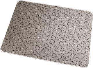 Colortex Photomat, General Purpose Floor Mat with Reflective Gray Ripple Photo Design,