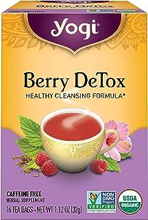 Yogi Tea - Berry DeTox (6 Pack) - Healthy Antioxidant Blend - 96 Tea Bags
