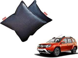 WolkomHome Car Cushion Pillows Travel Black Color Cushions Set of 2 for Renault Duster T2