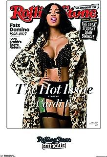 Trends International Rolling Stone Magazine - Cardi B 17 Wall Poster, 22.375