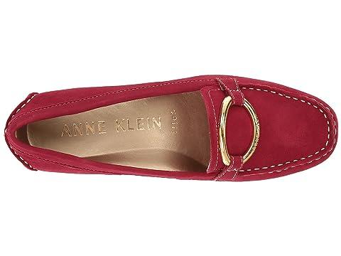 Anne Klein Harmonie Red Suede Discount Store oZZmUvoCt