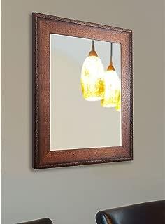 American Made Rayne Timber Woods Wall Mirror, 26.5 x 32.5