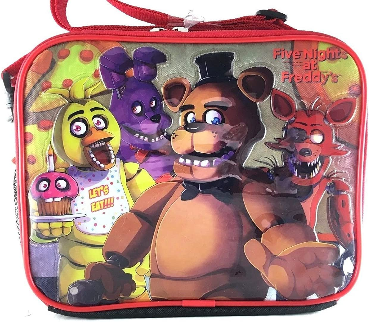 Five Shipping included Nights At Freddys Lunch Bag FNAF Snack Fox Chica High material Bonnie