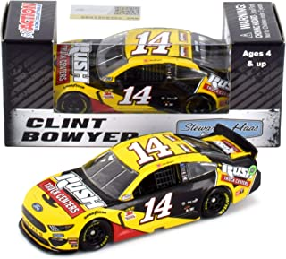 Lionel Racing Clint Bowyer #14 Rush Trucks 2019 Ford Mustang NASCAR Diecast 1:64 Scale