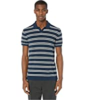 Todd Snyder - Short Sleeve Boucle Polo