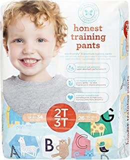Honest Training Pants, Animal Abcs, 2T-3T, 26 Count