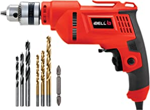 iBELL ED06-91 High Speed Electric Drill 10MM,400W,2800RPM, with Bit Sets - 6 Months Warranty