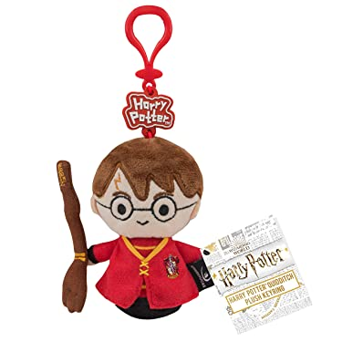 Cinereplicas Harry Potter Plush Keychain - Chibi Collection - 4.5inches (Harry Potter Quidditch)