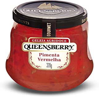 Geleia Agridoce de Pimenta Vermelha Queensberry Gourmet 320g