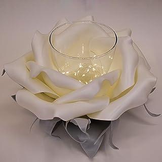 ArteXenia: Centro tavolo artigianale a forma di fiore