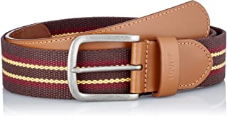 Levi's Classic Leather & Webbing Belt Cintura Uomo