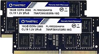 Timetec Hynix IC 32GB(2x16GB) DDR4 2666MHz PC4-21300/PC4-21333 Mac用 Apple 専用増設メモリ 永久保証 (32GB(2x16GB))