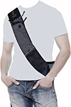 CrossTab - TABLET Hands-Free Ultra-Light Personal Pack by Paqlite - Carryall CrossBody Shoulder bag