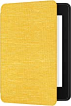 Ayotu Fabric Case for Kindle Paperwhite 2018 - Thinnest&Lightest Smart Cover with Auto Wake/Sleep - Fits Amazon The Latest Kindle Paperwhite(10th Generation-2018),K10 Yellow