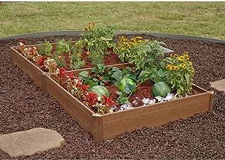 SC Garden Kit Raised Bed Planter Box Elevated Flower Vegetable Outdoor Vegetables Wooden Corner Grow