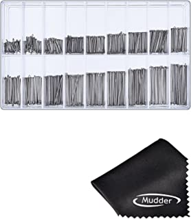 Mudder 360 Pieces 6-23mm Watch Band Link Cotter Pin Assortment