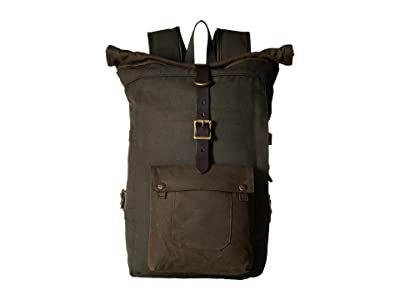 Filson Roll Top Backpack (Otter Green) Backpack Bags