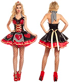 Party King Women's Off with Their Heads Queen of Hearts Costume