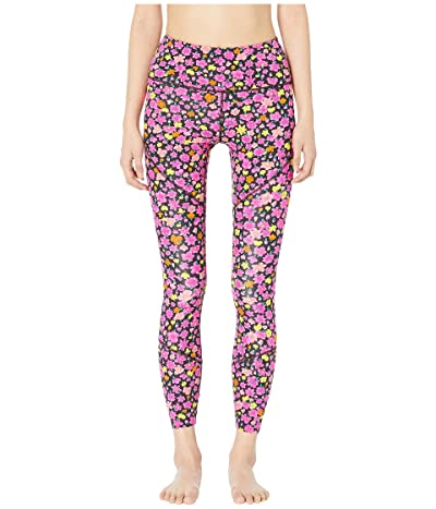 Kate Spade New York Athleisure Marker Floral Leggings (Black) Women