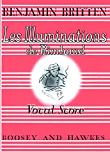 Les Illuminations de Rimbaud, Op. 18 Vocal Score
