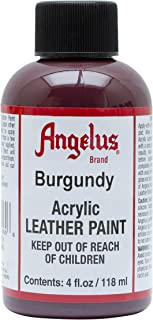Angelus Acrylic Leather Paint-4oz.-Burgundy
