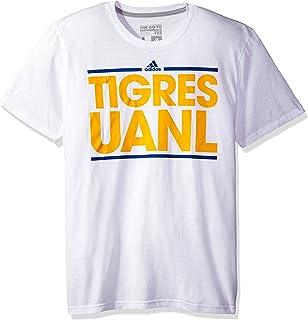 MLS Club Tijuana Men's Dassler Short Performance Tee, Large, White