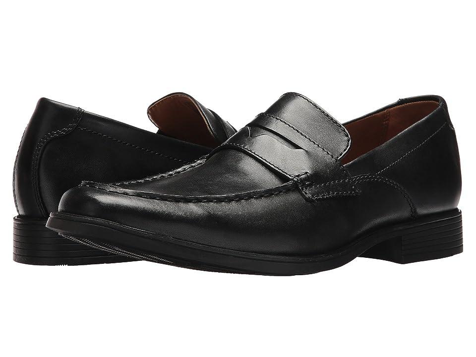 Clarks Tilden Way (Black Leather) Men