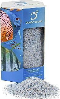 Aquariaglass Arrecife arena de vidrio para decoración de acuarios, peceras y terrarios 2 kg cristal
