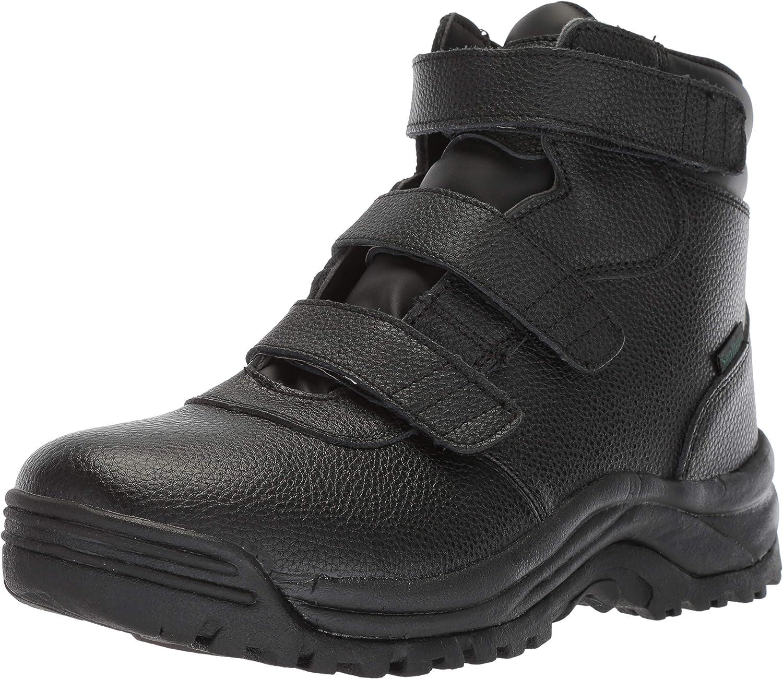 Propét Mens Cliff Walker Tall Strap Hiking Boot