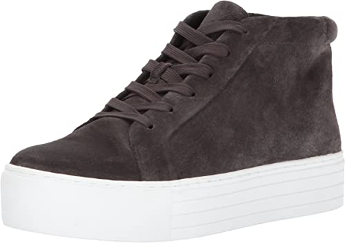 Kenneth Cole Cole Cole New York Wohommes Janette High Top Lace Up Platform paniers Patent Fashion, Asphault, 9 M US eac