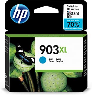 HP 903XL High Yield Ink Cartridge, Cyan - T6M03AE