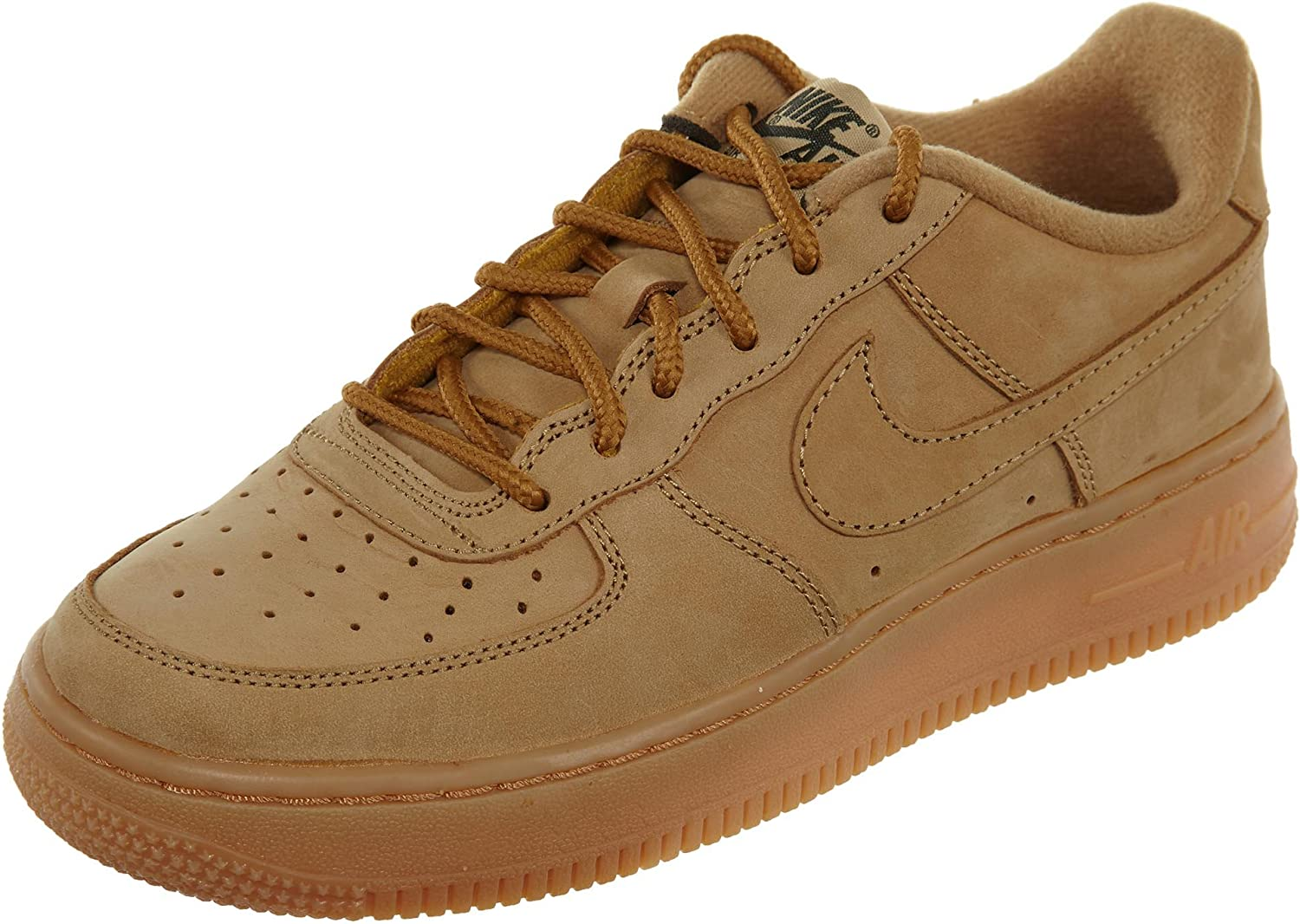 NIKE Youth Air Force 1 Winter Premium GS Nubuck Trainers