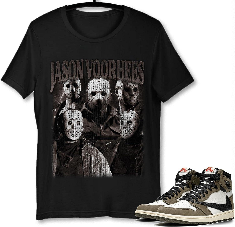 Over Max 54% OFF item handling #Jason #Voorhees T-Shirt to Match 1#Travis Jordan Sneaker #Scott