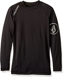 Volcom Men's Solid UPF 50+ Long Sleeve Rashguard