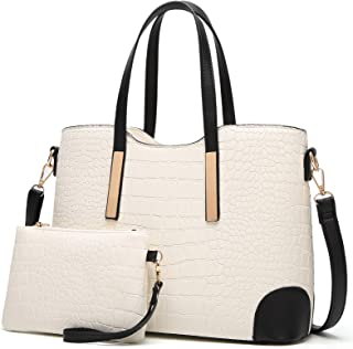 0a95e972a YNIQUE Satchel Purses and Handbags for Women Shoulder Tote Bags Wallets