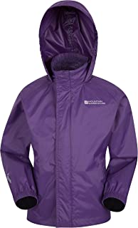 Mountain Warehouse Pakka Kids Rain Jacket - Waterproof, Packable