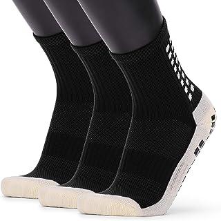 Lixada Basketball Socks,Men's Anti Slip Football Socks Athletic Long Socks Absorbent Sports Grip Socks for Basketball Socc...